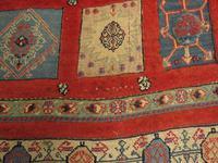 Superbly Colourful Antique Rahra Rug, Kilim Rug (5 of 13)