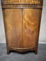 Reproduction Mahogany Corner Cabinet / Corner Cupboard (3 of 8)