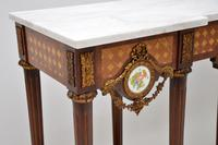 Antique French Marble Top Console Table (9 of 11)