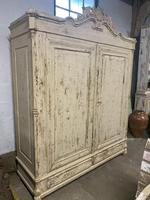 French Painted Wardrobe (4 of 7)