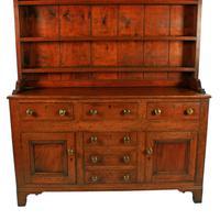 Georgian Oak Dresser & Rack (4 of 8)