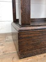 Antique Oak Cupboard on Stand (8 of 13)