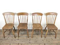 Set of Four Mix & Match Farmhouse Chairs (3 of 9)