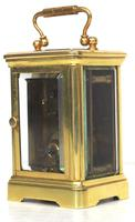 Antique Miniature 8 Day Carriage Clock by Walters & George Regent Street Rare (3 of 14)