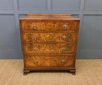 Burr Walnut Chest of Drawers (2 of 13)