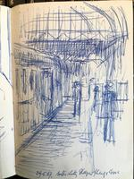 Original Sketchbook of Pencil Drawings, Pen Drawings and Watercolours by Helmut Petzsch - 1987-1989 (7 of 19)