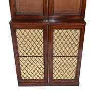 Pair of Regency Library Bookcases Display Cabinets c.1820 (3 of 12)
