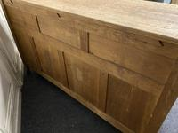 French Gothic Bleached Oak Sideboard (17 of 17)
