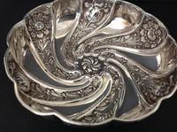 Antique Edwardian Silver Art Nouveau Dish/bowl - 1903 (2 of 5)