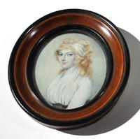 After Cosway - A Good Portrait Miniature of a Lady - Early 19th Century (3 of 5)