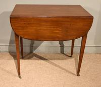 George III Mahogany Pembroke Table Drawer (6 of 6)