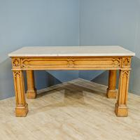 Gothic Oak Console Table (5 of 7)