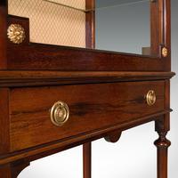 Antique Raised Pier Cabinet, English, Mahogany, Display Case, Edwardian, C.1910 (8 of 12)