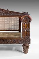 Mid 19th Century Indo-Portuguese Rosewood Sofa (9 of 9)