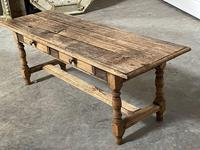 French Rustic Bleached Oak Coffee Table (17 of 17)