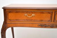 Antique French Style Inlaid Rosewood Console Table (8 of 11)