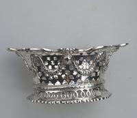 Extremely Good Solid Silver Pierced Basket / Bowl by Golds c.1899 (7 of 10)