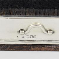 Large Victorian Novelty Silver Boot Brush Scraper Pen Nib Wipe (9 of 10)