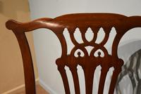 18th Century Chippendale Period Mahogany Armchair (7 of 7)