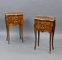 Fine Pair of Ormolu & Parquetry Side Tables (5 of 6)
