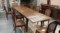 19th Century Extending Farmhouse Table (6 of 6)