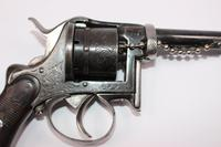 Belgian 6 Shot 9mm Fagnus Double Action Pin Fire Revolver (2 of 6)