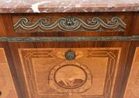 Scandinavian Commode Marquetry Chest of Drawers c.1920 (6 of 15)