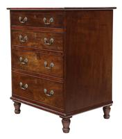 Small Mahogany Chest of Drawers 19th Century (3 of 7)