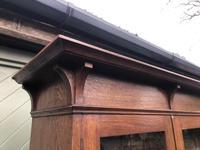 Arts & Crafts Glazed Oak Bookcase (10 of 11)