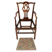 18th Century Chippendale Elbow Chair (2 of 8)