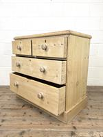 Rustic Antique Pine Chest of Drawers (7 of 10)