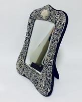 Large Victorian Silver Dressing Table Mirror (9 of 16)