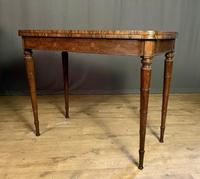 Superb French Rosewood Fold-over Top Card Table (12 of 14)