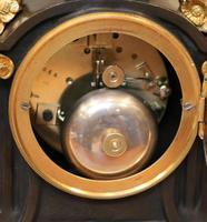 French Louis XVI Style Parcel-Gilt Bronze Mantel Clock (13 of 18)