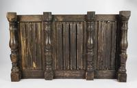 Large 17th Century Linenfold Paneled Section