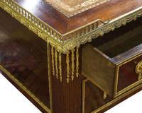 Louis XVI Style Mahogany Bureau Plat (5 of 7)
