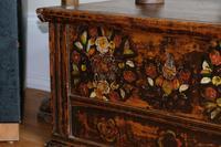 19th Century Austrian Folk Art Painted Pine Coffer (5 of 23)