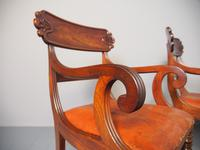 Pair of George IV Mahogany Armchairs (5 of 9)