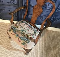Quality Burr Walnut Child's Chair (3 of 13)