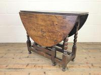 18th Century Antique Oak Gateleg Table (7 of 10)