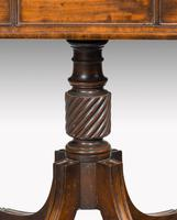 Complex George III Mahogany Centre Standing Writing Table (6 of 6)