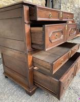 17th Century Oak Two Part Chest of Drawers (15 of 20)