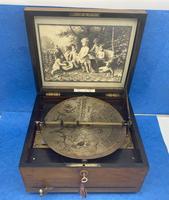 Victorian  Walnut Symphonian Music Box (7 of 22)