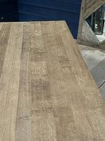 Deep Bleached Oak French Farmhouse Dining Table (19 of 20)