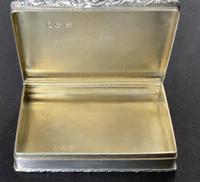 Victorian silver snuff box - Francis Clark (3 of 5)