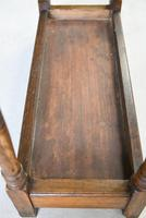 Early 20th Century Oak Stick Stand (12 of 12)
