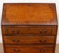 Bureau Mahogany Writing Desk Chest 19th Century (4 of 12)