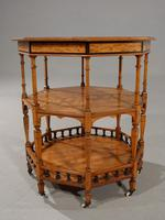 Exceptional Late 19th Century Octagonal Satinwood Table (7 of 7)