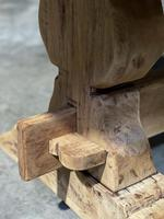 Large Rustic French Bleached Oak Farmhouse Dining Table (8 of 40)