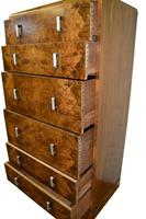 Large Art Deco Six Drawer Chest of Drawers (9 of 10)